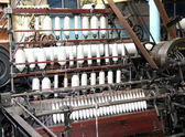 Textile Machine. — Stock Photo