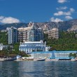 New buildings of Yalta, Crimea, Ukraine — Stock Photo