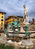 Signoria square in Florence, Italy — Stock Photo
