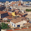 Stock Photo: The roofs of Gerona, Spain
