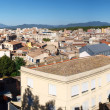 Stock Photo: Panorama of Gerona, Spain