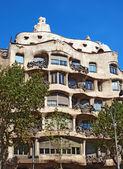Casa la Pedrera In Barcelona — Stock Photo