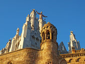 Tibidabo Church, Barcelona, Spain — Stock Photo
