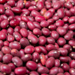 Stock Photo: Red kidney beans texture background. MexicBean.