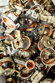 Television components e-waste for recycling — Stock Photo