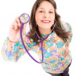 Female doctor pediatrician — Stock Photo