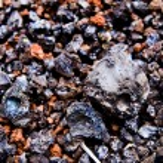 Lava Rocks close up — Stock Photo