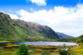 Small mountain lake in the Andes — Stock Photo