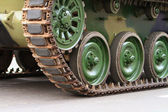 Caterpillars of a tank — Stock Photo