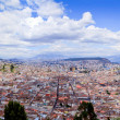 Panorama, historic downtown Quito, Ecuador — Stock Photo