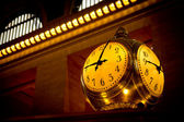 Grand central terminal saati, new york, abd. — Stok fotoğraf