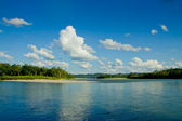 Reflections of Amazon river, Ecuador — Stock Photo