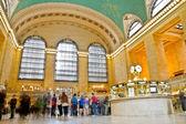 Grand Central Terminal long exposure, New York, USA. — Foto de Stock