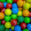 Colorful background of assorted Gumballs — Stock Photo