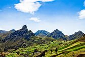 Views through the Andes Ecuador, South America — Stock Photo