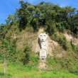 Nariz del diablo on the coast road in Ecuador — Stock Photo