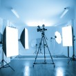Photo of an empty photographic and video studio. — Stock Photo #14809169