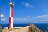 Lighthouse at Manta Ecuador — Stockfoto