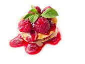 Strawberry dessert — Stock Photo