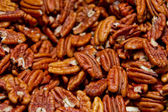 Background of nuts - — Stock Photo