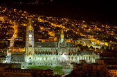 Cathedral of Quito, Ecuador. — Stock Photo