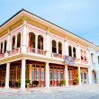 Renovated traditional building Guayaquil, Ecuador — Stock Photo