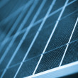 Stock Photo: Solar panel close up color processed