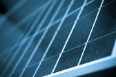 Solar panel close up color processed — Stock Photo