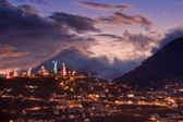 Quito at night, Ecuador. — Stock Photo