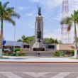 Roundabout with Grau monument in Piura, Peru — Stock Photo #19224065