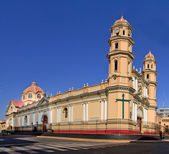 Main Cathedral in the city of Piura, in Peru — Stock Photo