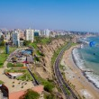 Stock Photo: View of Miraflores Park, Lim- Peru