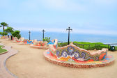 El Parque del Amor, in Miraflores, Lima, Peru — Stock Photo
