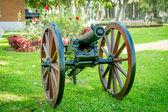 Powder Cannon from Chile-Peru war — Stock Photo