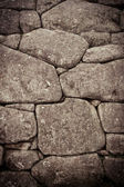 Inca wall detail, color processed — Stock Photo