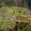 The Incan ruins of Machu Picchu in Peru — Stock Photo
