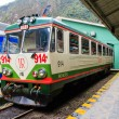 Stock Photo: Train to Machu Picchu, Peru