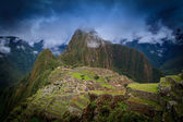 Ancient inca lost city of Machu Picchu, Peru — Stock Photo
