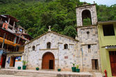 Aguas Calientes, main church in machu picchu, Peru