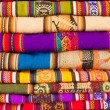 Colorful blankets — Stock Photo #20878523