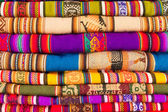 Colorful blankets — Foto de Stock