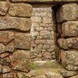 Detail of Inca Ruins at Machu Picchu — Stock Photo