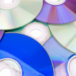 Royalty-Free Stock Photo: DVD and CD background