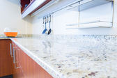 Empty space of the kitchen interior image — Foto Stock