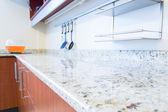 Spazio vuoto dell'immagine interni cucina — Foto Stock