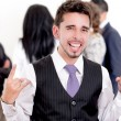 Royalty-Free Stock Photo: Portrait of confident happy business man