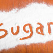Stock Photo: Sugar sign, Flour Artwor