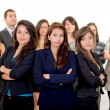 Stock Photo: Group of successful hispanic business