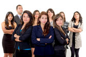 Group of successful hispanic business — Stockfoto