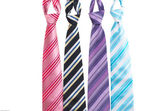 Ties with stripes — Stock Photo